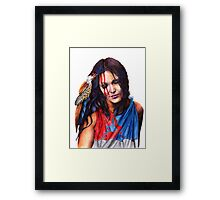 Living In Two Worlds Framed Print