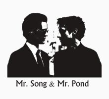 Mr. Song and Mr. Pond by poisontao