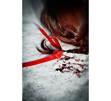 Her Red Hair  Photographic Print