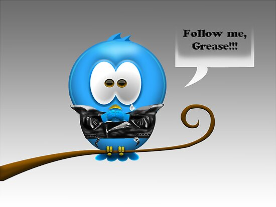 Twitt Grease by Hiragraphic