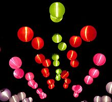 Paper lanterns by DaleReynolds