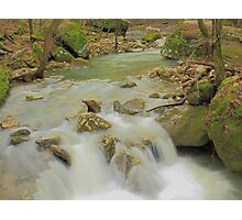 Sweet Indian Creeks Flowing Waters Photographic Print