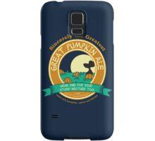 It's the Great Pumpkin Ale Charlie Brown Samsung Galaxy Case/Skin