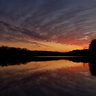 January Sunset by borettiphoto