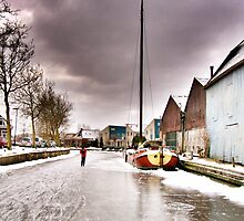 WINTER IN MY HOMETOWN (friday 9th feb 2012) by Johan  Nijenhuis