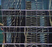 Cathedral Reflection #3, Rio de Janeiro, Brazil by Carole-Anne