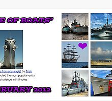 "BANNER TOP TEN  "" A LOVE OF BOATS"" by Guendalyn"