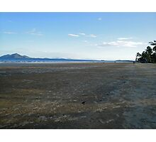 Mission Beach with Crab Balls and Dunk Island  Photographic Print