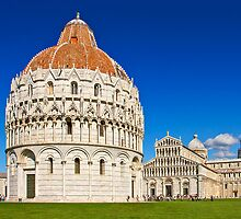 Pisa - Piazza dei Miracoli by Kim Andelkovic