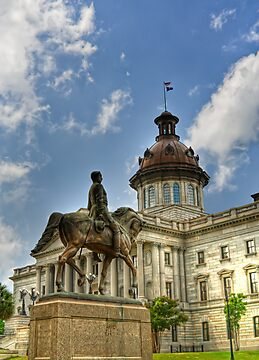 SC Statehouse by KRphotog