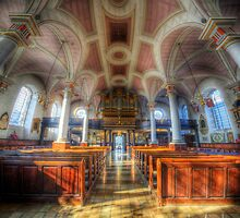 Derby Cathedral Nave 2 - Vertorama by Yhun Suarez