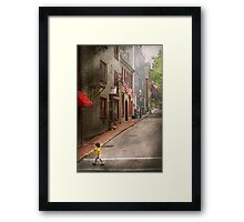 City - Rhode Island - Newport - Journey  Framed Print