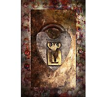 Steampunk - Locksmith - The key to my heart Photographic Print