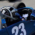 Racing Car by Pete  Burton