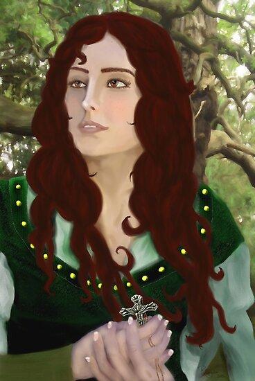 Lady Marian FitzWalter by Rowan  Lewgalon