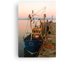 Fishing over for the day Canvas Print
