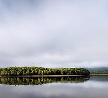 The Hawkesbury River - NSW Australia by Bev Woodman