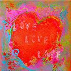 love heart 2 by bibje
