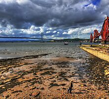 The Forth Bridges II by Tom Gomez