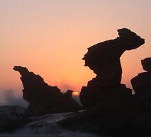Rocky Sunrise by Tam  Locke
