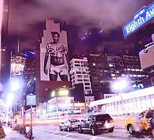 David Beckham on 8th Avenue - New York City by michael6076