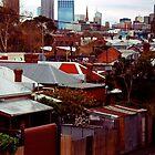 Collingwood Station, Melbourne by J Forsyth
