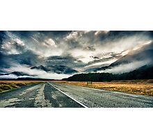 Dawn Road Photographic Print