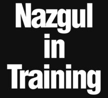 Nazgul in Training by MarkSeb