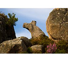 Natural rock formation, Castro Laboreiro, Parque Nacional da Peneda-Geres, Portugal Photographic Print