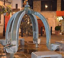 Fountain St Christopher's Place London by Shawn Parkes