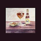 Leffe Blonde Greeting by Patsy Smiles