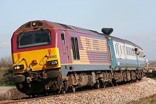 Class 67 diesel loco 67022 by Tony Steel