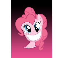 Pinkie Pie Party in my Head no text Photographic Print