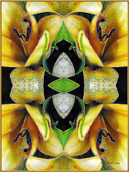 Compassion - Card X from The Tarot of Flowers by RC deWinter
