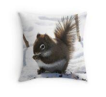 Nibble Throw Pillow