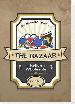 The Bazaar - Zelda by thehookshot