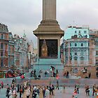 London I - The Nelson's Column  by Igor Shrayer