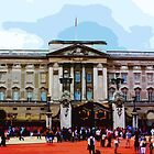 Buckingham Palace, London by cycreation