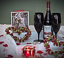 Love Is In The Air - Happy Valentine's Day by Sherry Hallemeier