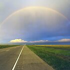 Rainbowed Road by John Attebury