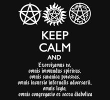 SUPERNATURAL - SPEAKING LATIN by thischarmingfan