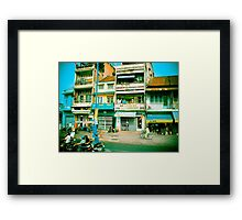 Vietnam Scooters Framed Print