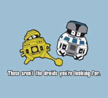 Not The Droids by robotrobotROBOT