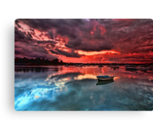 Floating Peacefully Canvas Print