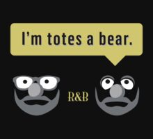 Roger & Bryce - I'm totes a bear (dark) by Steve Edwards