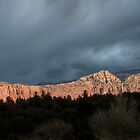 After the rainbow in Sedona by Sylvain Dumas