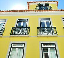 Building in Lisbon by luissantos84