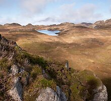 From An Sgurr to Loch nam Ban Mora by Christopher Cullen