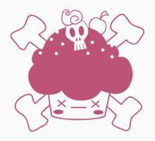Evil Cupcake of DOOM! Tee shirts Kids Clothes