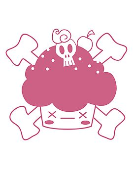 "Evil Cupcake of DOOM! Greeting cards and postcards"" Photographic"